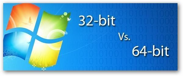 ویندوز 32 یا 645 بیتی