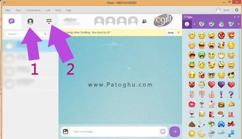 Viber-Contacts-pc