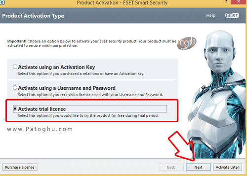Active-Trial-Eset