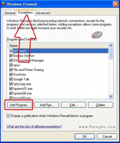 Windows-XP-block-app-from-firewall