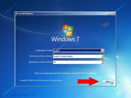 آموزش نصب ویندوز 7 عکس شماره 3