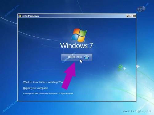 آموزش نصب ویندوز 7 عکس شماره 4