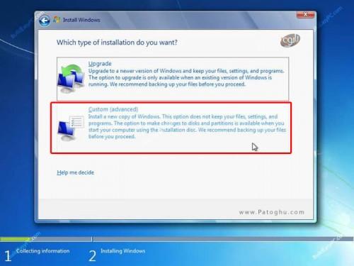 آموزش نصب ویندوز 7 عکس شماره 6