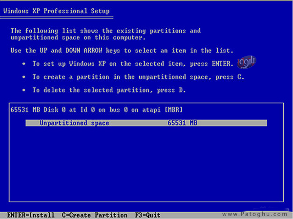 How-Install-Windows-XP-3