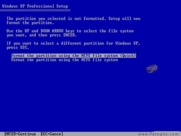 How-Install-Windows-XP-6