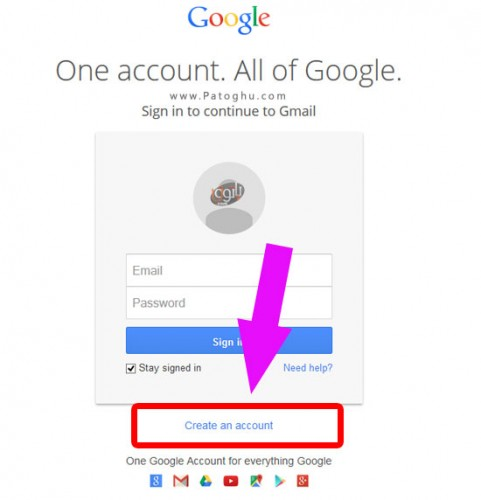 how to create a table in gmail email