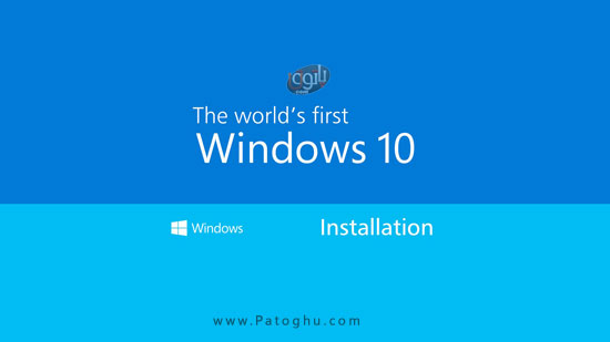 آموزش تصویری نصب ویندوز 10 How Install Windows
