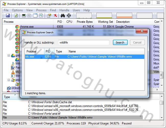 چگونه فایل های قفل شده در ویندوز را تغییر نام