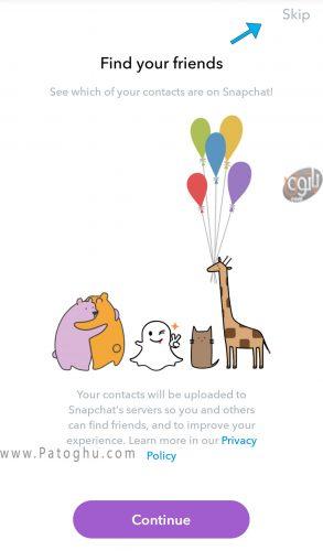 روش استفاده از اسنپ چت (snapchat)