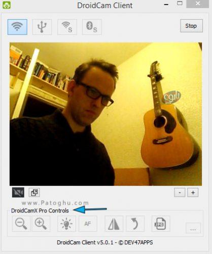 روش تبدیل گوشی هوشمند به Webcam