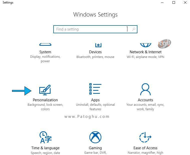 روش تغییر پس زمینه صفحه ورود به ویندوز 10