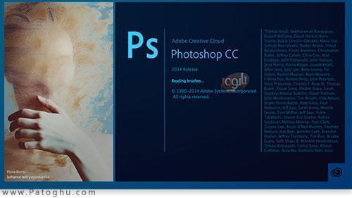 آموزش فارسی سازی Photoshop cc