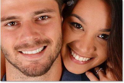 سفید کردن دندان ها با Photoshop