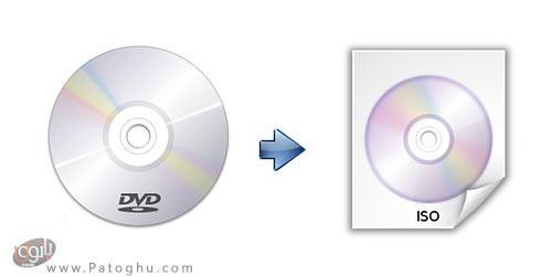 آموزش ساخت فایل ISO از روی دیسک