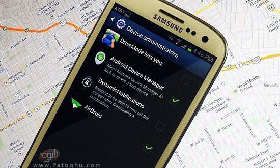 باز کردن قفل گوشی با استفاده از سرویس Android Device Manager