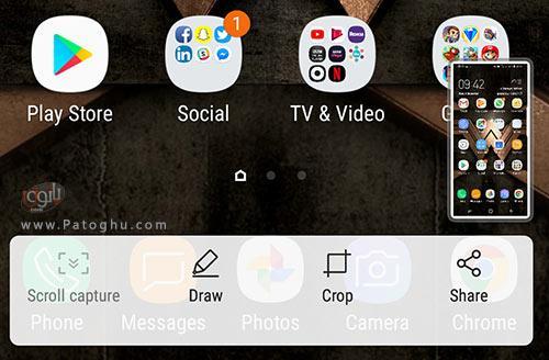 اسکرین شات گرفتن در گوشی های سامسونگ-3