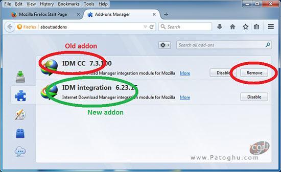 نصب افزونه ی IDM در فایرفاکس-2