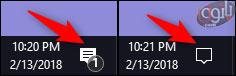 مشاهده ی اعلان ها در اکشن سنتر-2