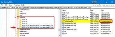 حذف یوزر پروفایل در ویندوز-5