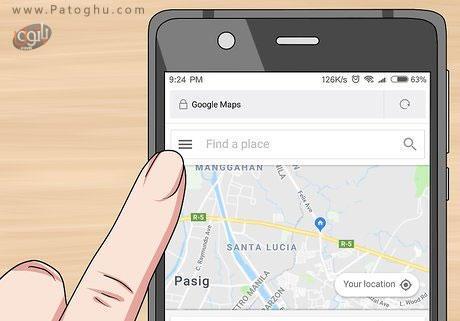 استفاده از سرویس گوگل مپس-2