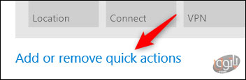 شخصی سازی دکمه های -5Quick Action