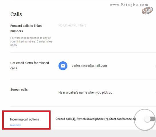ضبط مکالمات تلفنی به کمک سرویس Google Voice-3