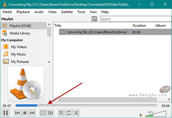 تبدیل فایل ویدیویی به MP3 با نرم افزار VLC-5