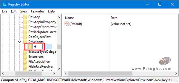 تغییر آیکون درایو ها در فایل اکسپلورر-2