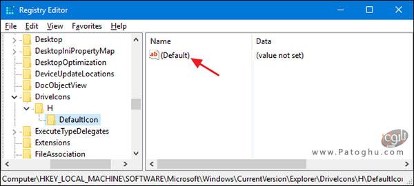تغییر آیکون درایو ها در فایل اکسپلورر-4