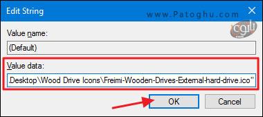تغییر آیکون درایو ها در فایل اکسپلورر-5