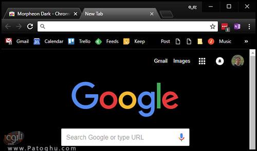 فعال کردن حالت تاریک گوگل کروم در ویندوز 10