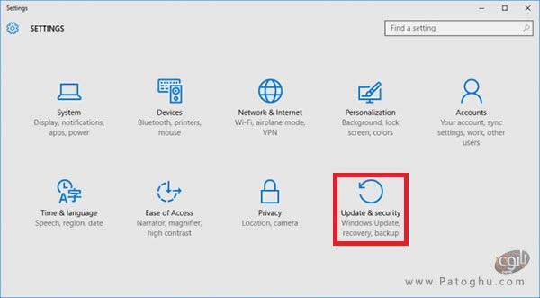 ریست کردن ویندوز با استفاده از ابزار داخلی ویندوز-1