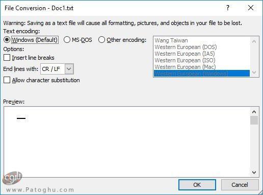 تبدیل سند ورد به فایل اکسل با استفاده از ابزار داخلی اکسل-2