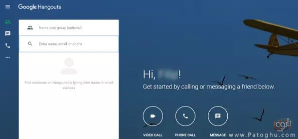 استفاده از سرویس Hangouts در کامپیوتر-2
