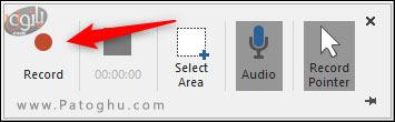 استفاده از اسکرین رکوردر پاورپوینت-4