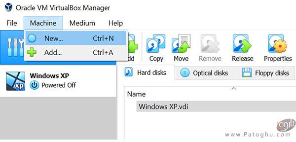 نصب و راه اندازی VirtualBox در سیستم-1