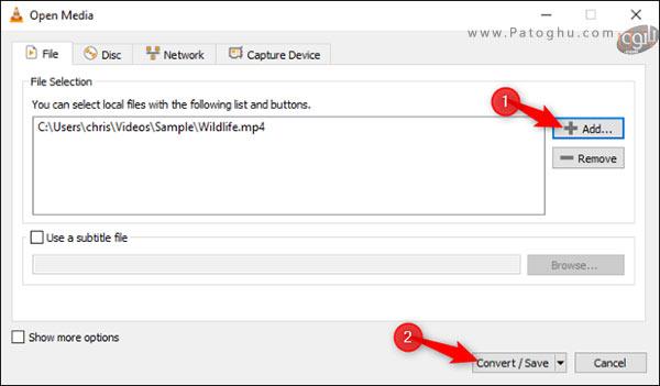 تبدیل فرمت فایل صوتی یا ویدیویی به فرمت دیگر-2