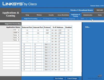 محدود کردن پهنای باند در مودم های Linksys-2