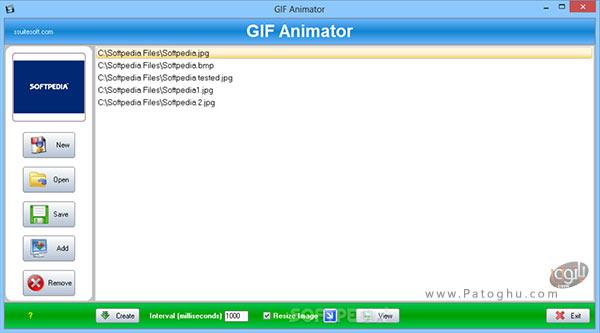 نرم افزار SSuite Gif Animator