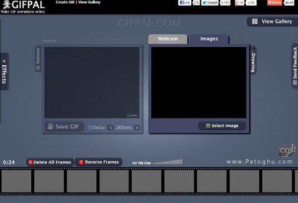 وبسایت GifPal