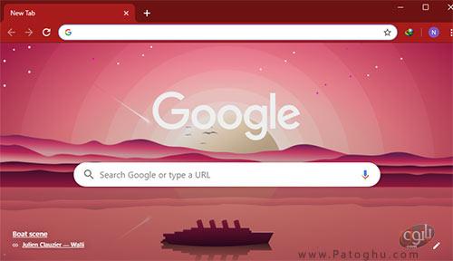 ایجاد تم سفارشی برای مرورگر گوگل کروم