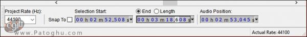 ساخت رینگتون به کمک نرم افزار Audacity در ویندوز-2