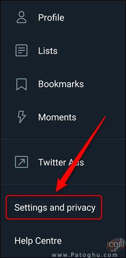 فعال کردن تایید هویت دو مرحله ای در توییتر-3