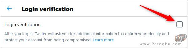 فعال کردن تایید هویت دو مرحله ای در توییتر-07