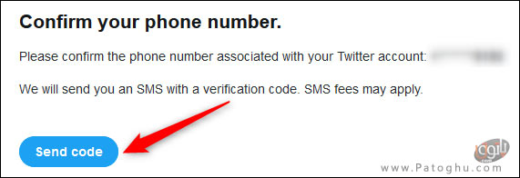 فعال کردن تایید هویت دو مرحله ای در توییتر-10