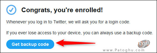 فعال کردن تایید هویت دو مرحله ای در توییتر-12