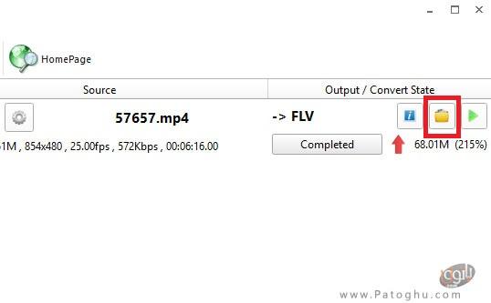 تبدیل فایل ویدئویی به فرمت FLV-4
