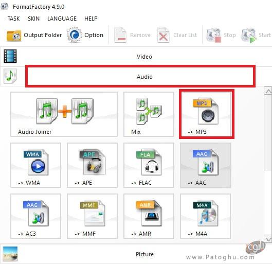 تبدیل فایل صوتی به فرمت Mp3-1