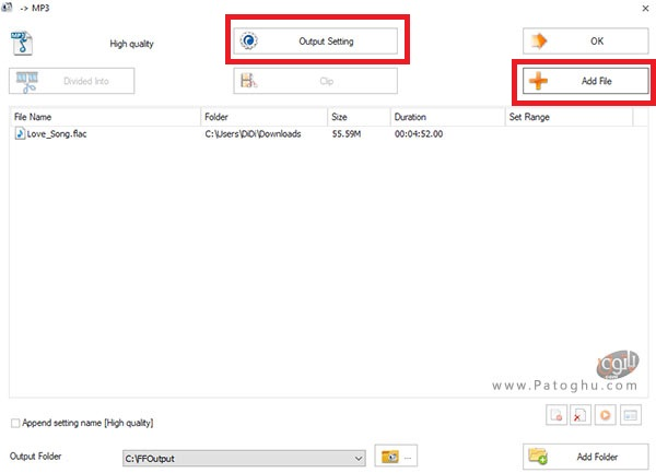 تبدیل فایل صوتی به فرمت Mp3-3