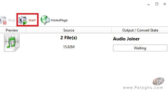 ادغام دو یا چند فایل صوتی با هم-3